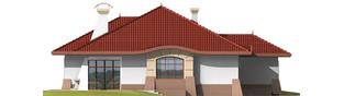 Projekt domu Kornelia G1 01 - elewacja lewa
