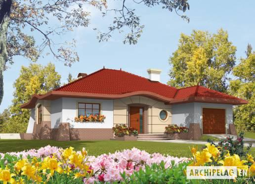 House plan - Kornelia G1 (with basement)