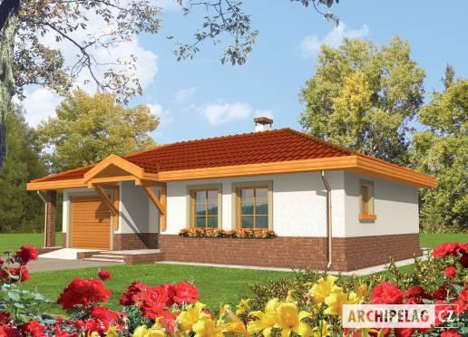 Projekt rodinného domu - Erna