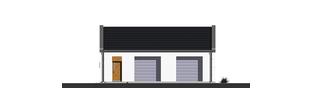 Projekt domu Garaż G22 01 - elewacja frontowa