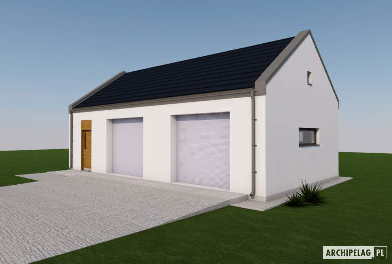 Projekt domu Garaż G22 01 -