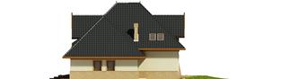 Projekt domu Stokrotka G1 - elewacja prawa