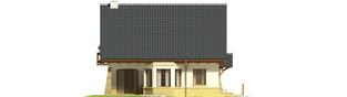 Projekt domu Hiacynt G1 - elewacja lewa