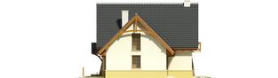 Projekt domu Hiacynt G1 - elewacja prawa