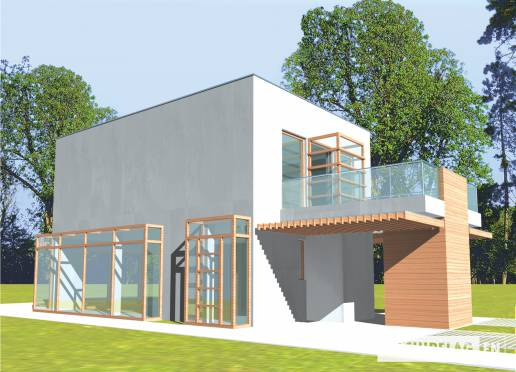 House plan - Peter