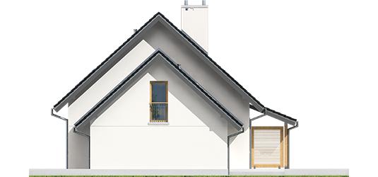 Maris III G1 ENERGO - Projekty domów ARCHIPELAG - Marisa III G1 ENERGO - elewacja prawa