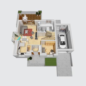 Marisa III G1 ENERGO: Widok 3D -