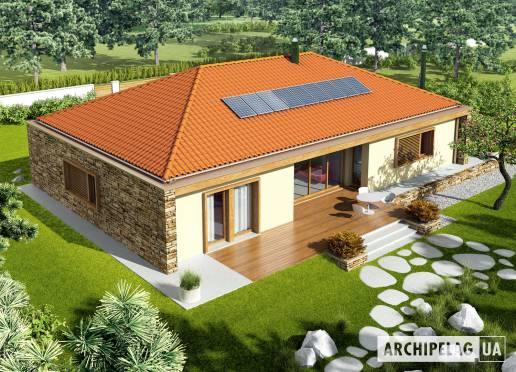 Проект будинку - Екс 8 (Г2, Енерго, версія Г)