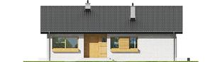 Projekt domu Eryk III - elewacja frontowa