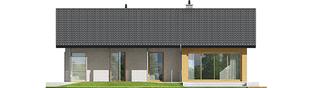 Projekt domu Eryk III - elewacja tylna