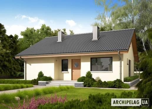 Проект будинку - Рафаель VI (Економ)