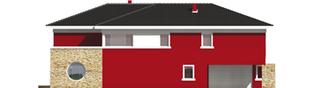 Projekt domu Kaj G2 - elewacja lewa