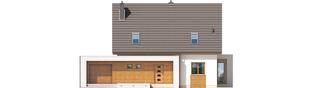 Projekt domu Ernest G1 - elewacja frontowa