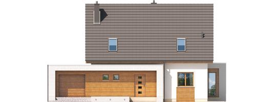 Ernest G1 - Projekt domu Ernest G1 - elewacja frontowa