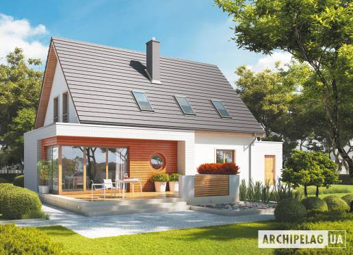 Проект будинку - Ернест (Г1)