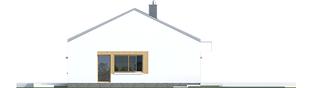 Projekt domu EX 11 G2 (wersja C) soft - elewacja prawa