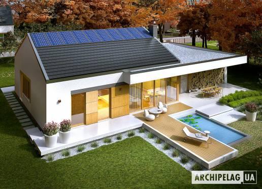 Проект будинку - Екс 11 (Г2, версія В)