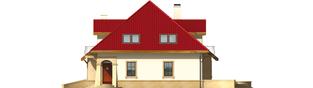 Projekt domu Lukrecja G1 - elewacja prawa