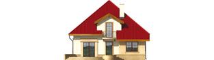 Projekt domu Lukrecja G1 - elewacja tylna