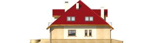 Projekt domu Lukrecja G1 - elewacja lewa