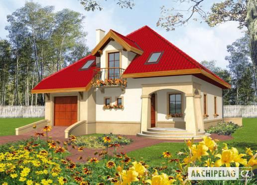 Projekt rodinného domu - Lukrécie