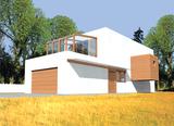 Projekt rodinného domu: Julius
