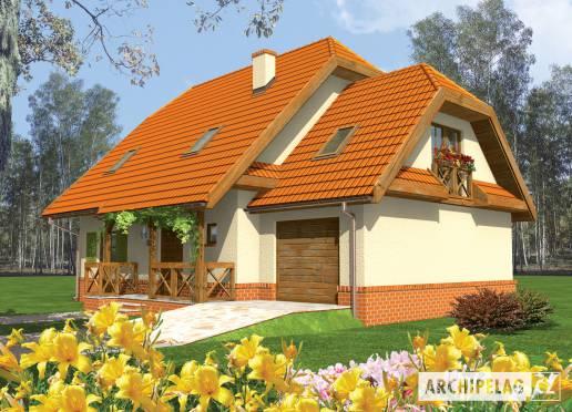 Projekt rodinného domu - Otýlie (s garáží)