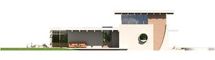 Projekt domu River G2 - elewacja lewa
