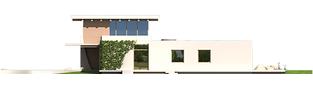 Projekt domu River G2 - elewacja prawa