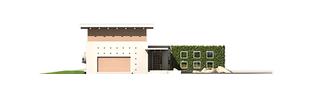 Projekt domu River G2 - elewacja frontowa