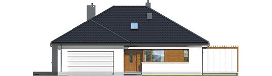 Astrid G2 - Projekt domu Astrid G2 - elewacja frontowa