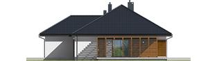 Projekt domu Astrid G2 - elewacja prawa