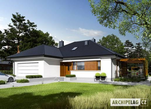 Projekt rodinného domu - Astrid G2