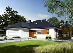 Projekt rodinného domu: Astrid G2