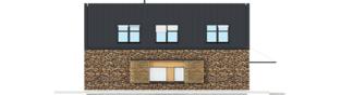 Projekt domu EX 15 II ENERGO PLUS - elewacja lewa