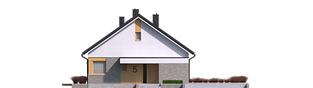 Projekt domu Daniel IV - elewacja frontowa