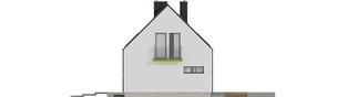 Projekt domu E11 ECONOMIC - elewacja prawa