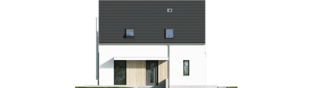 Projekt domu Mini 13 PLUS - elewacja frontowa