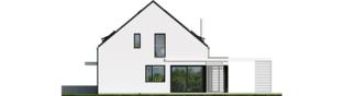 Projekt domu Mini 13 PLUS - elewacja prawa