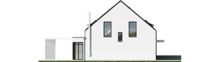 Projekt domu Mini 13 PLUS - elewacja lewa