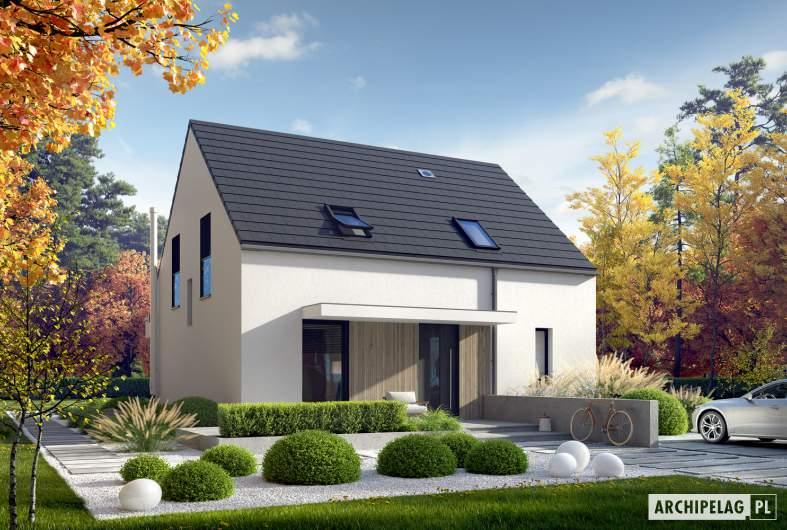 Projekt domu Mini 13 PLUS - wizualizacja frontowa