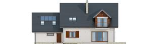 Projekt domu Amaranta G2 MULTI-COMFORT - elewacja tylna