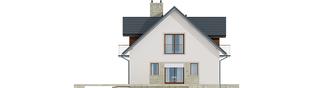 Projekt domu Amaranta G2 MULTI-COMFORT - elewacja lewa