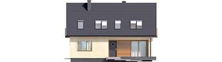 Projekt domu E11 III ECONOMIC - elewacja frontowa