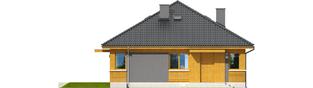 Projekt domu Anabela - elewacja frontowa