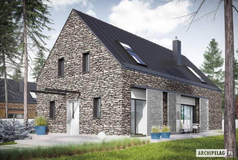 Projekt domu EX 15 II ENERGO PLUS reco -