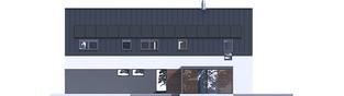 Projekt domu EX 19 G2 ENERGO PLUS - elewacja prawa