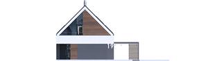 Projekt domu EX 19 G2 ENERGO PLUS - elewacja frontowa