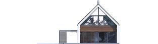 Projekt domu EX 19 G2 ENERGO PLUS - elewacja tylna