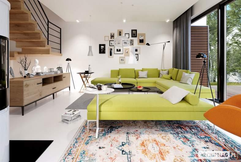 Projekt domu EX 19 G2 ENERGO PLUS - wizualizacja wnętrza